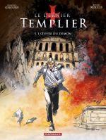 Le dernier templier – cycle 2, T5 : L'oeuvre du démon (0), bd chez Dargaud de Khoury, Rocco, Vidal, Champion