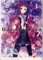 Hanayamata T3, manga chez Bamboo de Hamayumiba