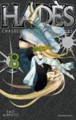 Hadès chasseur de psycho-démons T8, manga chez Delcourt de Aimoto