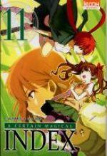 A certain magical index T11, manga chez Ki-oon de Kamachi, Kogino