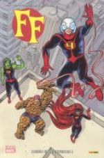 FF T1 : Adieu et bienvenue ! (0), comics chez Panini Comics de Fraction, Quiñones, Allred, Allred