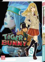 Tiger & bunny T5, manga chez Kazé manga de Nishida, Sakakibara