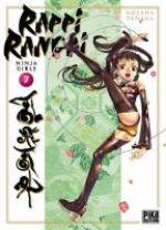 Rappi Rangai - Ninja girls T7, manga chez Pika de Tanaka