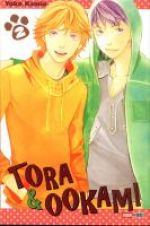 Tora & Ookami  T2, manga chez Panini Comics de Kamio