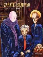 Trois artistes à Paris, bd chez Dupuis de Sampayo, Zarate