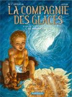 La compagnie des Glaces – cycle 2 : Cabaret Miki, T8 : Le peuple du sel (0), bd chez Dargaud de Studio Jotim