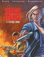 Imago Mundi T8 : L'héritage Jomon (0), bd chez Dargaud de Braquelaire, Corbeyran, Brahy, Marquebreucq