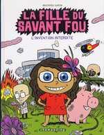 La fille du savant fou T1 : L'Invention interdite (0), bd chez Delcourt de Sapin, Clémence
