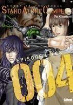 Ghost in the Shell - Stand alone complex  T4, manga chez Glénat de Shirow, Kinutani
