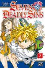 Seven Deadly Sins T2, manga chez Pika de Nakaba
