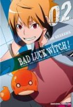 Bad luck witch T2, manga chez Tonkam de Arakawa