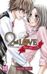 2nd love - once upon a lie  T3, manga chez Kazé manga de Hata