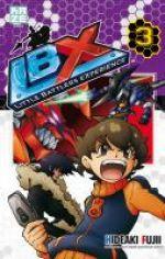 LBX Little Battlers Experience T3, manga chez Kazé manga de Fujii