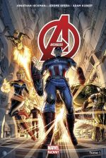 The Avengers (vol.5) T1 : Le monde des Avengers (0), comics chez Panini Comics de Hickman, Opeña, Kubert, Ponsor, d' Armata, Martin jr, Hollowell, Isanove, White, Weaver