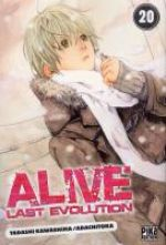 Alive - Last evolution  T20, manga chez Pika de Adachi, Kawashima
