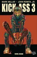 Kick-Ass – cycle 3, T1 : Civil war (0), comics chez Panini Comics de Millar, Romita Jr, White