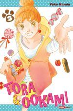 Tora & Ookami  T3, manga chez Panini Comics de Kamio