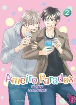 Ameiro paradox T2, manga chez Taïfu comics de Natsume