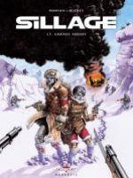 Sillage T17 : Grands froids (0), bd chez Delcourt de Morvan, Buchet