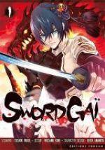 Sword gaï  T1, manga chez Tonkam de Inoue, Kine, Amemiya