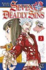 Seven Deadly Sins T3, manga chez Pika de Nakaba
