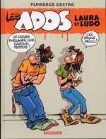 Les ados T1 : Laura et Ludo (0), bd chez Dargaud de Cestac