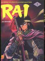 Rai T1, manga chez Kami de Manabe