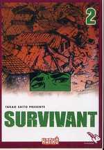 Survivant T2, manga chez Milan de Saïto