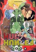 Hunter x Hunter T22, manga chez Kana de Togashi