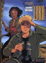 Luka T10 : Secret Défense (0), bd chez Dupuis de Lapière, Mezzomo, Cerise