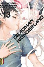 Deadman wonderland T13, manga chez Kana de Kataoka, Kouno