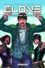 Clone T2 : Deuxième génération (0), comics chez Delcourt de Ginsburg, Schulner, McIntyre, Juan Jose Ryp, Troy