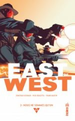East of West T2 : Nous ne sommes qu'un (0), comics chez Urban Comics de Hickman, Dragotta, Martin jr