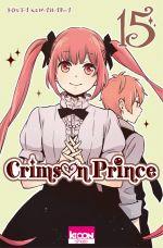 Crimson prince T15, manga chez Ki-oon de Kuwahara