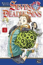 Seven Deadly Sins T4, manga chez Pika de Suzuki
