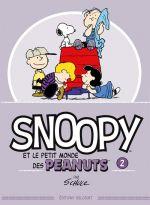 Snoopy et le petit monde des Peanuts T2, comics chez Delcourt de Schulz, Svart