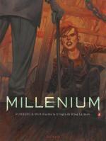 Millénium – cycle 2, T4 : La fille qui rêvait d'un bidon d'essence et d'une allumette - 2ème partie (0), bd chez Dupuis de Runberg, Man, Vernay