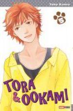 Tora & Ookami  T5, manga chez Panini Comics de Kamio