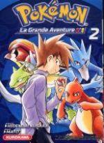 Pokémon la grande aventure  – La grande aventure, T2, manga chez Kurokawa de Kusaka, Mato