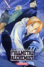 Fullmetal Alchemist - edition double T10, manga chez Kurokawa de Arakawa