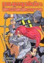 Pumpkin scissors T12, manga chez Pika de Iwanaga