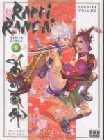 Rappi Rangai - Ninja girls T9, manga chez Pika de Tanaka