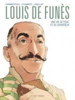 Louis de Funès, bd chez Delcourt de Dimberton, Chabert, Paillat