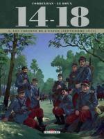 14-18 T2 : Les chemins de l'enfer (septembre 1914) (0), bd chez Delcourt de Corbeyran, Brizard, Le  Roux