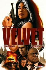 Velvet T1 : Avant le crépuscule (0), comics chez Delcourt de Brubaker, Epting, Breitweiser