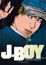 J.Boy T4, manga chez Delcourt de Noujou