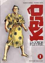 Kajô, la corde fleurie T1, manga chez Delcourt de Koike, Mori