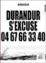 Durandur T2 : Durandur s'excuse (0), bd chez Carabas de Durand