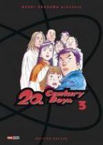 20th Century Boys – Edition deluxe, T3, manga chez Panini Comics de Urasawa