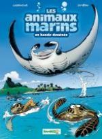 Les Animaux marins T3, bd chez Bamboo de Cazenove, Jytéry, Amouriq, Mirabelle
